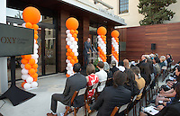 Jonathan Veitch, President of Occidental College. <br />