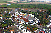 BARRETOS,SP, 29.08.2015 - BARRETOS-2015 - Vista áerea do parque do Peão de Boiadeiro de Barretos, no interior de São Paulo, ontem, 28. (Foto: Paduardo/Brazil Photo Press)