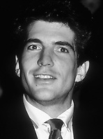 John Kennedy Jr. 1989<br /> Photo By John Barrett/PHOTOlink.net