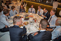 Moscow, Russia, 13 th July, 2016, Tennis,  Davis Cup Russia-Netherlands, Official Diner<br /> Photo: Henk Koster/tennisimages.com