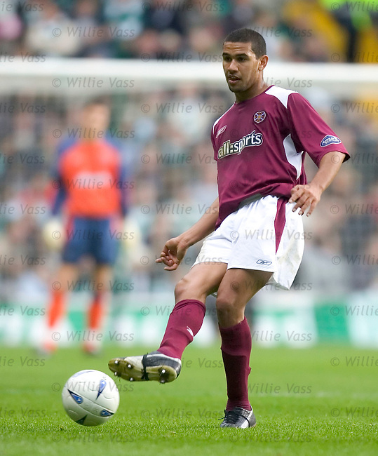 Patrick Kisnorbo, Hearts.stock season 2004-2005.pic willie vass