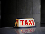Taxi also written with chinese characters