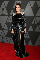 HOLLYWOOD, CA - NOVEMBER 11: Salma Hayek at the AMPAS 9th Annual Governors Awards at the Dolby Ballroom in Hollywood, California on November 11, 2017. <br /> CAP/MPI/DE<br /> &copy;DE/MPI/Capital Pictures