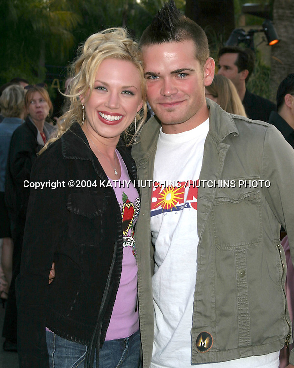 ©2004 KATHY HUTCHINS /HUTCHINS PHOTO.THE MUMMY RETURNS RIDE OPENING.UNIVERSAL STUDIOS HOLLYWOOD.UNIVERSAL CITY, CA.JUNE 24, 2004..ADRIENNE FRANTZ.HER COUSIN