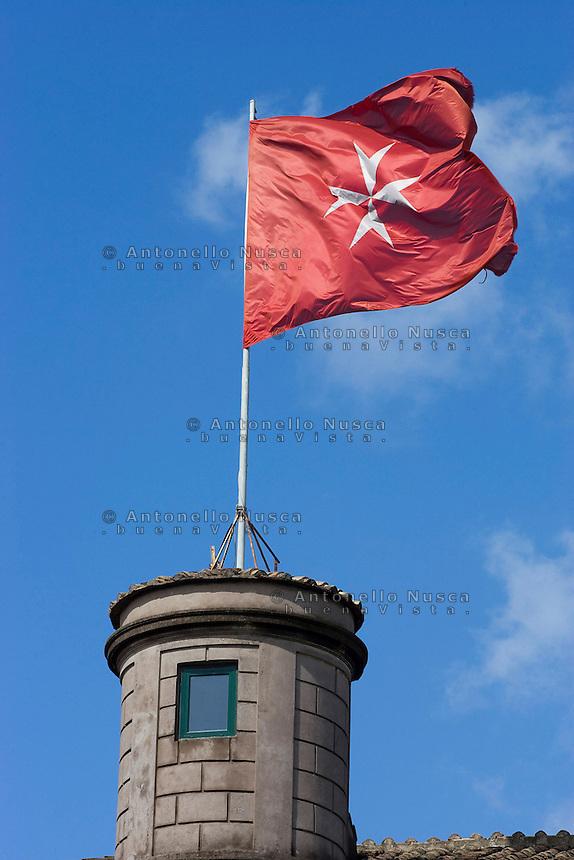 Uno scorcio di Villa Magistarle, una delle sedi dei Cavalieri di Malta. Il Sovrano Ordine di Malta è uno dei pochi Ordini nati nel Medio Evo ed ancora oggi attivi, con  una propria costituzione e un proprio passaporto.