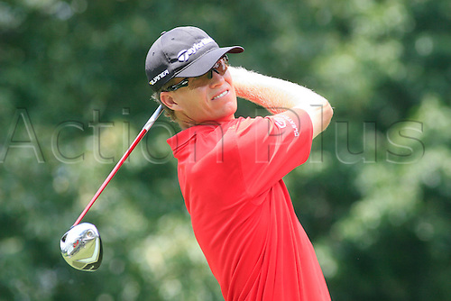June 13, 2009:  John Senden in action during the third round of the St. Jude Classic, held at TPC Southwind in Memphis, Tennessee..(Photo: Danny Murphy/ActionPlus) UK Editorial Licenses Only