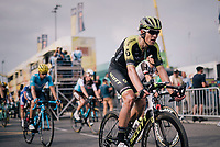 Jack Bauer (NZL/Mitchelton Scott) crossing the finish line<br /> <br /> Stage 18: Trie-sur-Baïse > Pau (172km)<br /> <br /> 105th Tour de France 2018<br /> ©kramon
