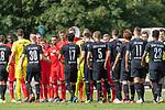 20.07.2019, Heinz Detmar Stadion, Lohne, Interwetten Cup 1. FC Köln vs SV Werder Bremen<br /> <br /> im Bild / picture shows <br /> Begruessung der Mannschaften vor dem Spiel<br /> <br /> Foto © nordphoto / Kokenge