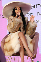 NEW YORK NY- APRIL 7: Cardi B at Beautycon Festival NYC 2019 Day 2 at the Javits Center in New York City on April 7, 2019. <br /> CAP/MPI/WG<br /> &copy;WG/MPI/Capital Pictures