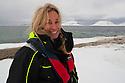 Norway, Svalbard, tourist guide and photographer Jami Tarris