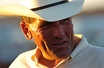 Portrait of a cowboy in the late afternoon sun at Nevada's Minden Buckaroo Fest and Ranch Rodeo.