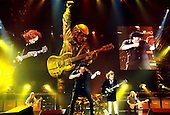 AC/DC - performing live on the Stiff Upper Lip Tour of Europe at the Olympiahalle, Munich, Germany - 21 Oct 2000 - Photo by: George Chin