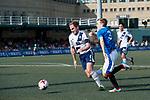 Glasgow Rangers (in blue) vs HKFC (in white), during their Main Tournament match, part of the HKFC Citi Soccer Sevens 2017 on 27 May 2017 at the Hong Kong Football Club, Hong Kong, China. Photo by Marcio Rodrigo Machado / Power Sport Images