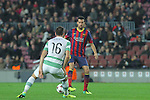 11.12.2013 Barcelona, Spain. UEFA Champions League, Group H Matchday 6. Picture show Sergio Busquets   in action during game between FC Barcelona Against Celtic at Camp Nou
