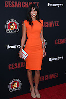 "HOLLYWOOD, LOS ANGELES, CA, USA - MARCH 20: Stephanie Sigman at the Los Angeles Premiere Of Pantelion Films And Participant Media's ""Cesar Chavez"" held at TCL Chinese Theatre on March 20, 2014 in Hollywood, Los Angeles, California, United States. (Photo by David Acosta/Celebrity Monitor)"