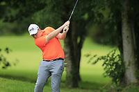 Gavin Tiernan (Co. Louth) during the Connacht U14 Boys Amateur Open, Ballinasloe Golf Club, Ballinasloe, Galway,  Ireland. 10/07/2019<br /> Picture: Golffile | Fran Caffrey<br /> <br /> <br /> All photo usage must carry mandatory copyright credit (© Golffile | Fran Caffrey)