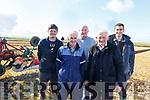Michael J and Jimmy Donegan (Causeway), Liam O'Mahoney (Ballyheigue), John McCarthy (Kanturk) and Thomas O'Carroll (Causeway) at the Ballyheigue ploughing match on Sunday.