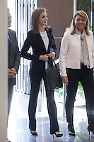 Queen Letizia at Spanish Red Cross meeting