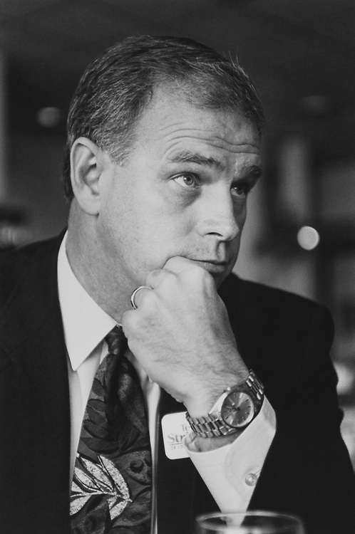 Rep. Ted Strickland, D-Ohio, in 1993. (Photo by Kathleen Beall/CQ Roll Call)