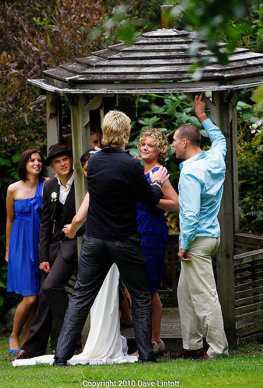 Mik and Helen's Wedding at Waihoanaga Centre, Otaki Gorge, Kapiti Coast, New Zealand on Saturday, 16 January 2010.