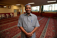 Mosque member Mohamed Abdulaziz Mohamed. NZ marks one week since Christchurch terror attacks. Wellington Islamic Centre in Wellington, New Zealand on Friday, 22 March 2019. Photo: Dave Lintott / lintottphoto.co.nz