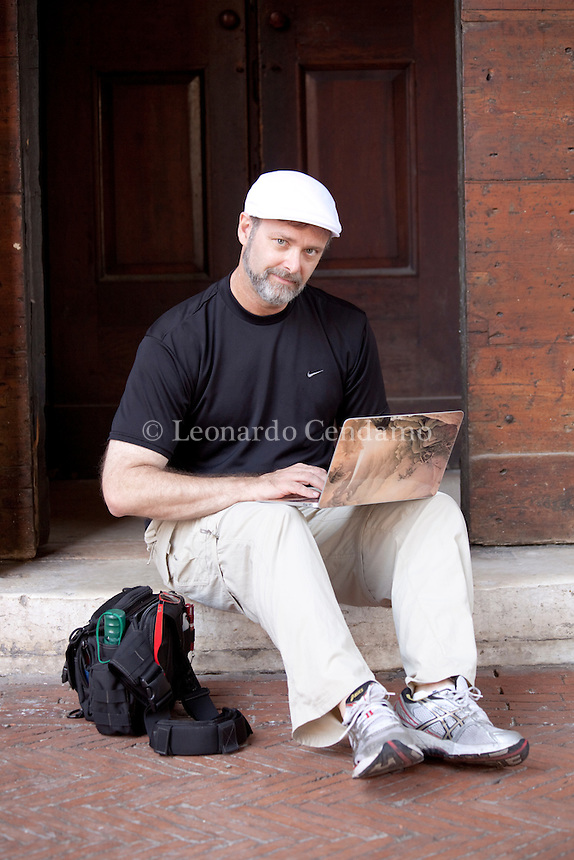 Christopher Moore, american writer. Mantova, 2011.  © Leonardo Cendamo