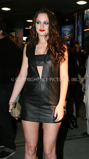 WWW.ACEPIXS.COM . . . . .  ....November 17 2009, New York City....Actress Leighton Meester at the grand opening celebration of the American Eagle OutfittersTimes Square store on November 17, 2009 in New York City.....Please byline: NANCY RIVERA- ACE PICTURES.... *** ***..Ace Pictures, Inc:  ..tel: (212) 243 8787 or (646) 769 0430..e-mail: info@acepixs.com..web: http://www.acepixs.com