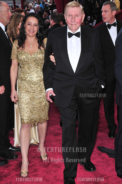 Sumner Redstone at the 80th Annual Academy Awards at the Kodak Theatre, Hollywood, CA..February 24, 2008 Los Angeles, CA.Picture: Paul Smith / Featureflash