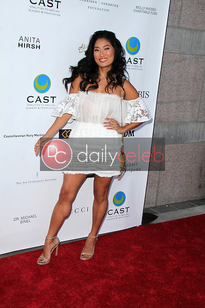 Chloe Flower<br /> at the 17th From Slavery to Freedom Gala, Skirball Center, Los Angeles, CA 05-21-15<br /> Dave Edwards/DailyCeleb.com 818-249-4998