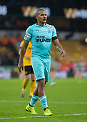 11th February 2019, Molineux, Wolverhampton, England; EPL Premier League football, Wolverhampton Wanderers versus Newcastle United; Salomon Rondon of Newcastle United during the match