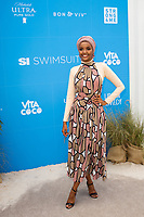 MIAMI, FL - MAY 11: Halima Aden attends the Sports Illustrated Swimsuit On Location Day 2 at Ice Palace on May 11, 2019 in Miami, Florida. <br /> CAP/MPI140<br /> ©MPI140/Capital Pictures