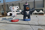 9th November 2016; PyeongChang, South Korea; The Winter Olympic mascots on display in the Pyoengchang region, South Korea region