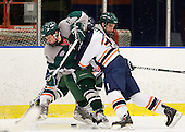 Tim Visich (Plymouth State - 8), ?, Seth Phelan (Plymouth State - 17) - The visiting Plymouth State University Panthers defeated the Salem State University Vikings 3-2 on Thursday, December 1, 2011, at Rockett Arena in Salem, Massachusetts.