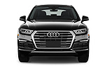 Car photography straight front view of a 2018 Audi Q5 Prestige 5 Door SUV