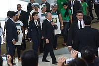 BRASÍLIA, DF, 01.02.2017 – AGENDA-TEMER – O presidente Michel Temer durante Cerimônia de Anúncio de Recursos para Merenda Escolar, no Palácio do Planalto na manhã desta quarta-feira, 08. (Foto: Ricardo Botelho/Brazil Photo Press)