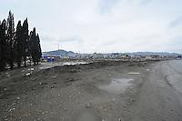 SPEEDSKATING: SOCHI: IJsstadion, omgeving in aanbouw, 18-03- 2013, copyright Martin de Jong
