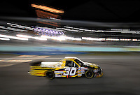 Nov. 14, 2008; Homestead, FL, USA; NASCAR Craftsman Truck Series driver Todd Bodine during the Ford 200 at Homestead Miami Speedway. Mandatory Credit: Mark J. Rebilas-