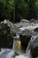 Waterfall and river at Phom Kulen