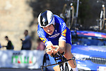 Pieter Serry (BEL) Deceuninck-Quick Step in action during Stage 1 of the 2019 Giro d'Italia, an individual time trial running 8km from Bologna to the Sanctuary of San Luca, Bologna, Italy. 11th May 2019.<br /> Picture: Eoin Clarke | Cyclefile<br /> <br /> All photos usage must carry mandatory copyright credit (© Cyclefile | Eoin Clarke)