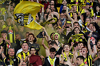 Fans during the A League - Wellington Phoenix v Melbourne City FC at Westpac Stadium, Wellington, New Zealand on Saturday 26 January 2019. <br /> Photo by Masanori Udagawa. <br /> www.photowellington.photoshelter.com