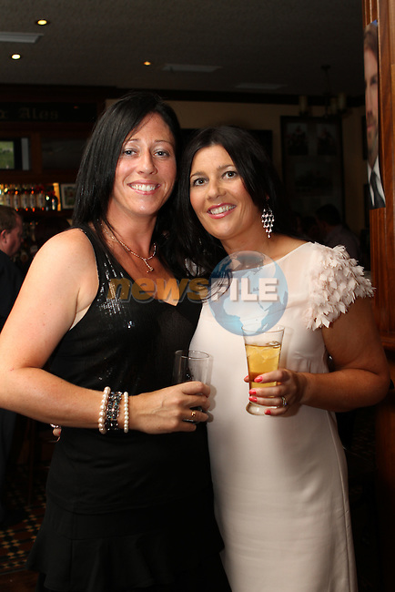 Julie Gibson and Rosaleen Byrne at Razz and Pat Reilly's 40th Wedding Anniversary in The Thatch...(Photo credit should read Jenny Matthews www.newsfile.ie)....This Picture has been sent you under the conditions enclosed by:.Newsfile Ltd..The Studio,.Millmount Abbey,.Drogheda,.Co Meath..Ireland..Tel: +353(0)41-9871240.Fax: +353(0)41-9871260.GSM: +353(0)86-2500958.email: pictures@newsfile.ie.www.newsfile.ie.