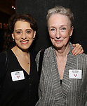 Judy Kuhn and Kathleen Chalfant attends the Vineyard Theatre's Annual Emerging Artists Luncheon at The National Arts Club on June 6, 2017 in New York City.