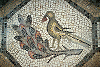 Mosaik in Cripta dei Scavi,  Dom, Aquileia, Venetien-Friaul, Italien, UNESCO-Weltkulturerbe
