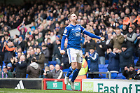 Alan Judge of Ipswich Town celebrates his goal during Ipswich Town vs Accrington Stanley, Sky Bet EFL League 1 Football at Portman Road on 11th January 2020
