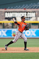 San Francisco Giants Hector Santiago (10) during an instructional league game against the Arizona Diamondbacks on October 16, 2015 at the Chase Field in Phoenix, Arizona.  (Mike Janes/Four Seam Images)