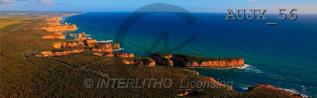 Dr. Xiong, LANDSCAPES, panoramic, photos, coast, landscape, ocean, Australia(AUJX56,#L#)