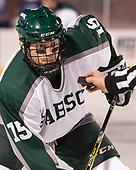 Tim Searles (Babson - 15) - The UMass Boston Beacons defeated the Babson College Beavers 5-1 on Thursday, January 12, 2017, at Fenway Park in Boston, Massachusetts.