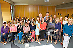 The ITT and Mary Immaculate College Jointly launch an e-Learning Bachelor of Arts in Early Childhood Practice. Pictured front l-r Ashling Sharky Head of Department Social Sciences, Sharon Phelan Lecturer, Deirdre Breatnach Coordinator of Program Mary Immaculate College, Emer Ring Head of Department Mary Immaculate College, Anne Corkery Lecturer Phycology IT Tralee, Oliver Murphy President IT Tralee, Middle - Tom Farrell e-Learning Unit IT Tralee, Back - Tony Murphy e-Learning Unit IT Tralee, Gerard O'Carroll IT Tralee, Annemarie Mac Gillicuddy Lecturer Law IT Tralee, Nora Marie Ni Mhurchu Lecturer IT Tralee with e-Learning Students at the Solas Building on Saturday
