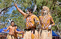 'True Love' - Gimuy Yindinji Dancers,  Laura Aboriginal Dance Festival, Laura, Cape York Peninsula, Queensland, Australia.
