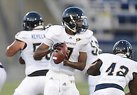 Florida International University quarterback EJ Hilliard (7) plays in the Spring Game on March 30, 2012 at Miami, Florida. .